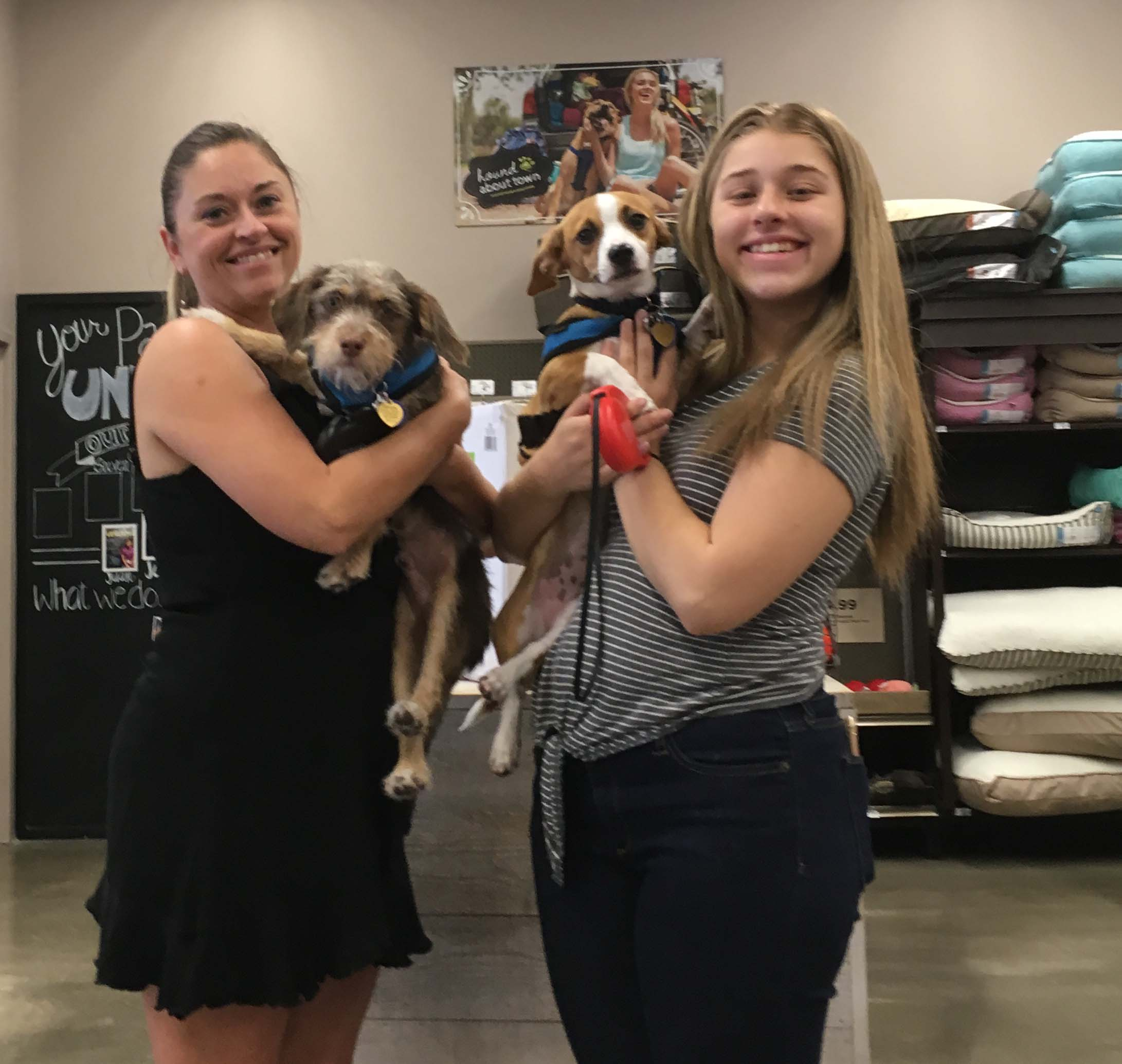 Binny & Cowboy Double Adoption